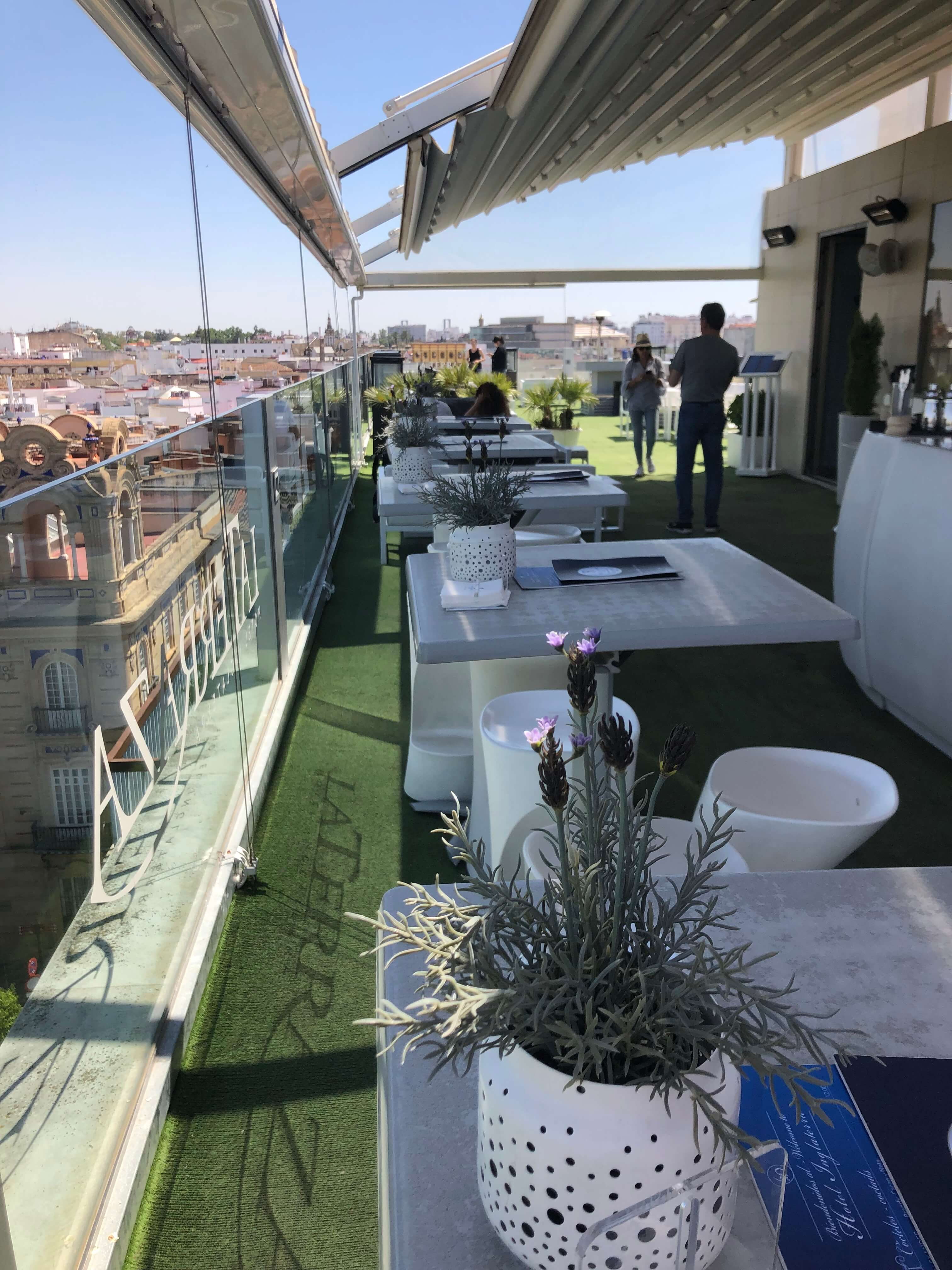 Best Hotel Rooftop Bars In Seville Spainsavvy