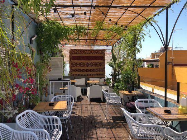hotel, hotel bar, hotel rooftop bar, hotel roof terrace bar