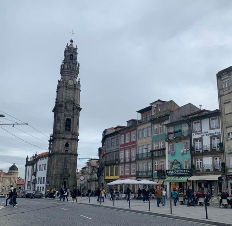 Porto's Torre de Clérigos