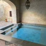 Plunge pool at Palacio Bucarelli