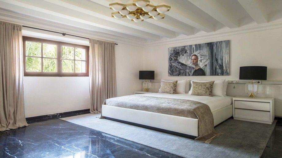 Hotel room at Palacio Can Marqués